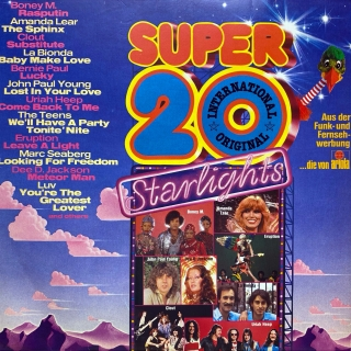 LP Various ‎– Super 20 International - Starlights