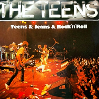 LP The Teens ‎– Teens & Jeans & Rock 'n' Roll