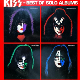 LP Kiss ‎– Best Of Solo Albums