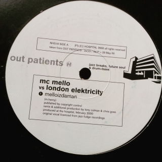 "12"" Various ‎– Out Patients"