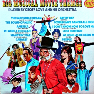 LP Geoff Love & His Orchestra ‎– Big Musical Movie Themes