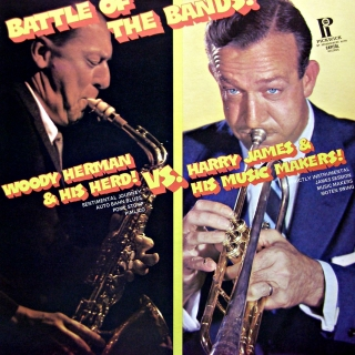 LP Woody Herman & His Herd vs. Harry James & His Music Makers