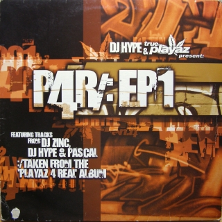 "12"" Various ‎– Playaz 4 Real EP 1"