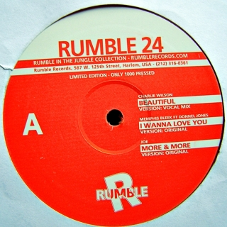 "12"" Various ‎– Rumble 24"