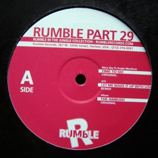 "12"" Various ‎– Rumble Part 29"
