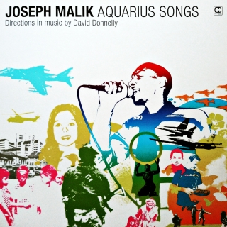 "2x12"" Joseph Malik ‎– Aquarius Songs"
