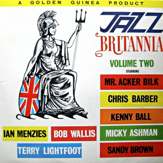 LP Various ‎– Jazz Britannia