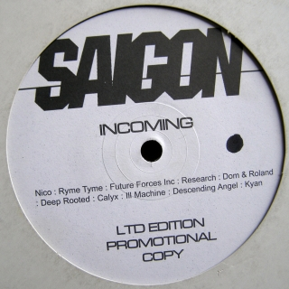 "12"" Various ‎– Incoming"