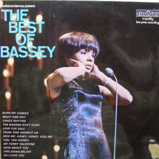 LP Shirley Bassey ‎– The Best Of Bassey