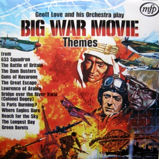 LP Geoff Love And His Orchestra ‎– Big War Movie Themes