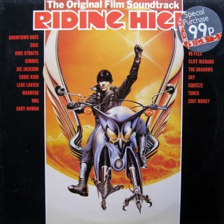 LP Various ‎– Riding High - The Original Film Soundtrack