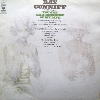 LP Ray Conniff And The Singers ‎– You Are The Sunshine Of My Life