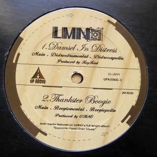 "12"" LMNO ‎– Damsel In Distress / Thankster Boogie"