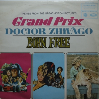 LP Themes From The Great Motion Pictures Grand Prix / Doctor Zhivago / Born Free