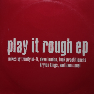 "12"" Various ‎– Play It Rough EP"