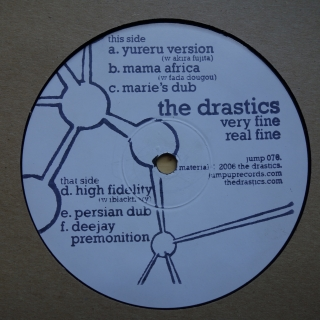 "12"" The Drastics ‎– Very Fine, Real Fine"