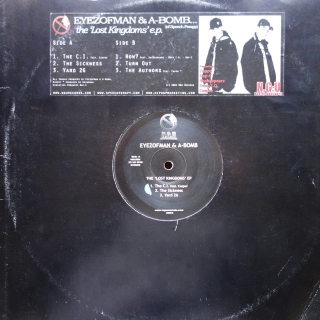 "12"" eyezofman & A-Bomb ‎– Lost Kingdoms EP"