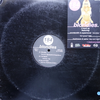"12"" 184 Productions ‎– Blondies EP"