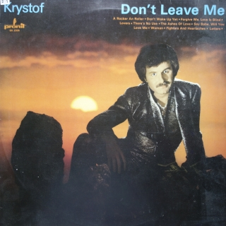 LP Krystof ‎– Don't Leave Me