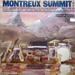 2xLP Various ‎– Montreux Summit, Volume 1