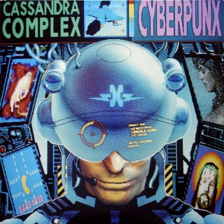 LP The Cassandra Complex ‎– Cyberpunx