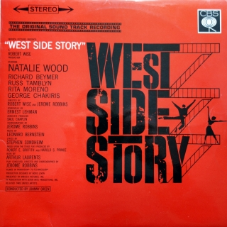 LP Leonard Bernstein ‎– West Side Story
