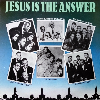 LP Various ‎– Jesus Is The Answer