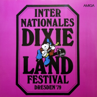 LP Various ‎– Internationales Dixieland Festival Dresden '79