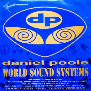 "2x12"" Various ‎– Daniel Poole - World Sounds Systems"