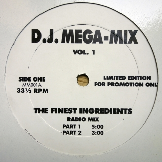 "12"" Norman Cook ‎– D.J. Mega-Mix Vol. 1"