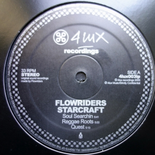 "2x12"" Flowriders ‎– Starcraft"