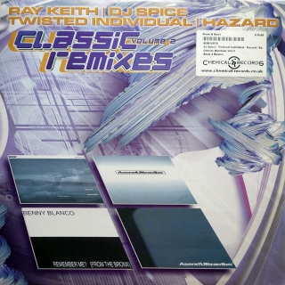 "2x12"" Various ‎– Classic Remixes Volume 2"