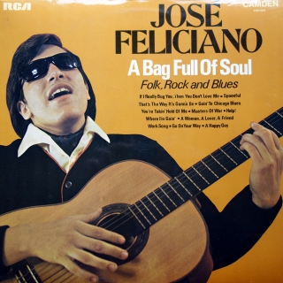 LP José Feliciano ‎– A Bag Full Of Soul