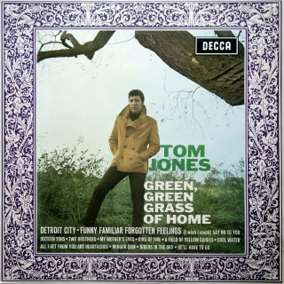 LP Tom Jones ‎– Green, Green Grass Of Home
