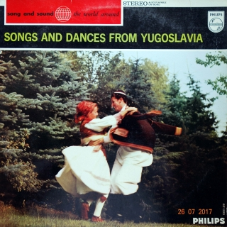 LP The National Yugoslav Dance Theatre – Songs And Dances From Yugoslavia