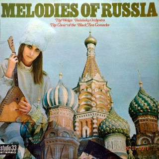 LP The Wolga Balalaika Orchestra - Melodies Of Russia