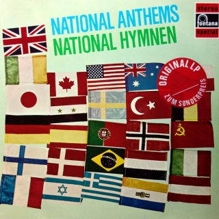 LP The Central Band Of The Royal Australian Air Force - National Anthems
