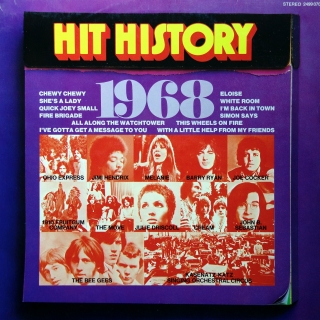 LP Various ‎– Hit History 1968