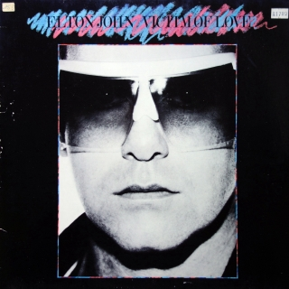 LP Elton John ‎– Victim Of Love