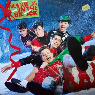 LP New Kids On The Block ‎– Merry, Merry Christmas