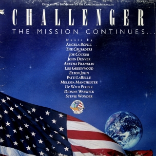 LP Various ‎– Challenger - The Mission Continues