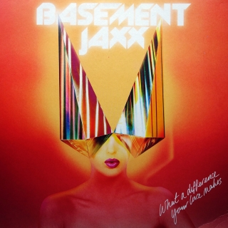 "2x12"" Basement Jaxx ‎– What A Difference Your Love Makes / Back 2 The Wild"