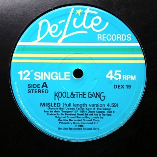 "12"" Kool & The Gang ‎– Misled"