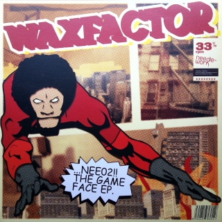 "12"" Waxfactor ‎– The Game Face EP"