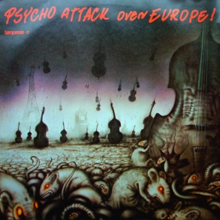 LP Various ‎– Psycho Attack Over Europe!