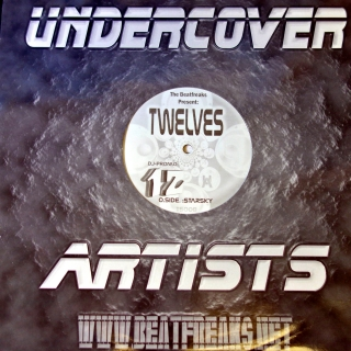 "12"" The Beatfreaks ‎– Twelves / Starsky"