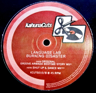 "12"" Language Lab ‎– Burning Disaster"