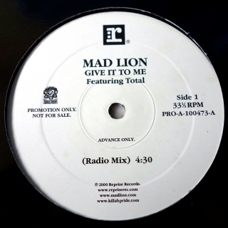 "12"" Mad Lion ‎– Give It To Me"