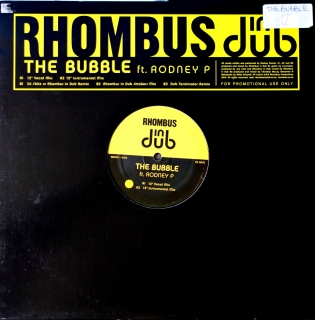 "12"" Rhombus In Dub Ft. Rodney P ‎– The Bubble"
