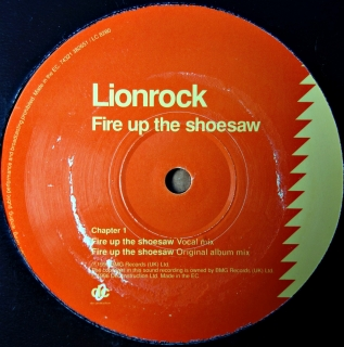 "12"" Lionrock ‎– Fire Up The Shoesaw"